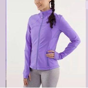 Lululemon Forme Jacket 10 Power PURPLE Yoga Run